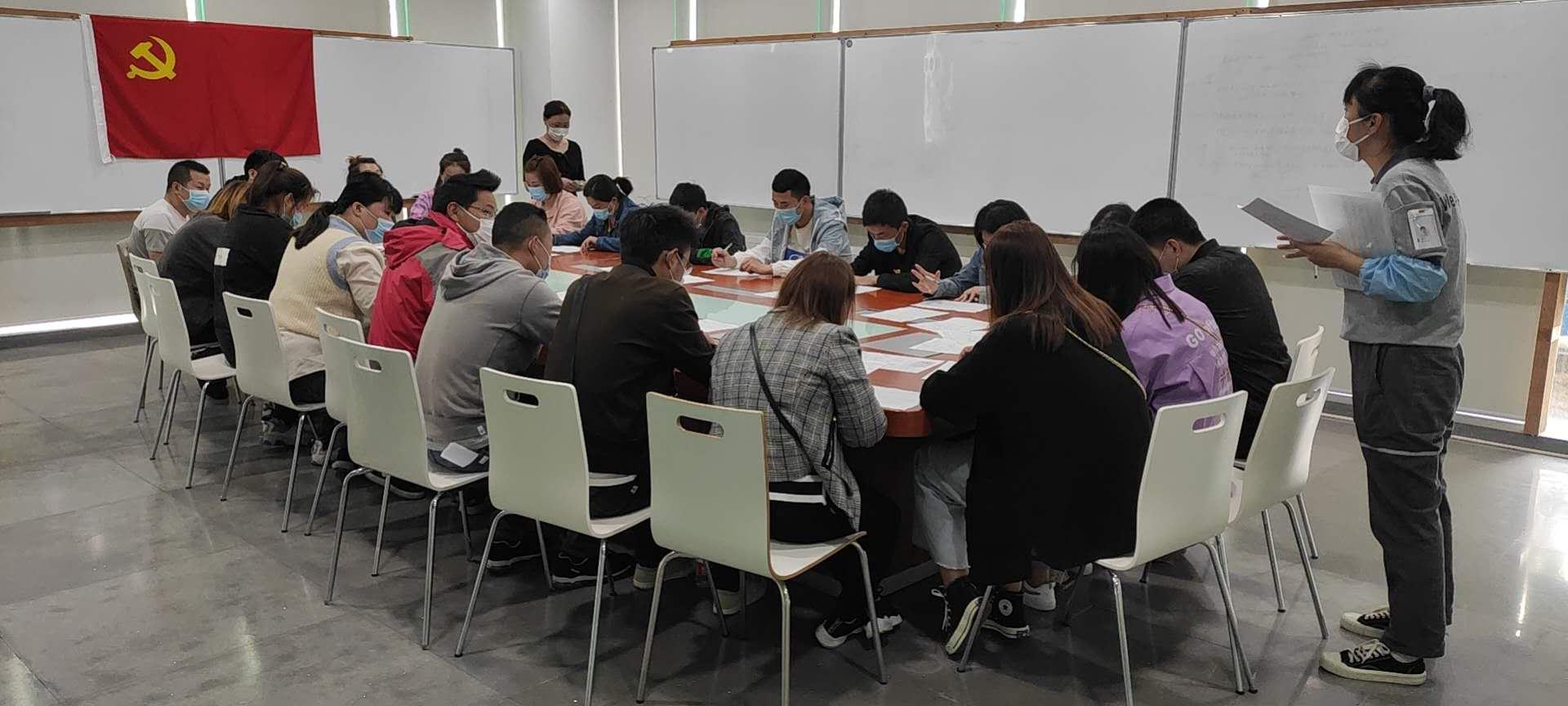 南惠人力公司协助延锋智能举行了招聘活动